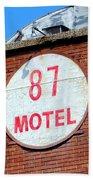 87 Motel Beach Towel