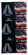9/11 Memorial For Sale Beach Towel
