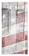 9 11 Beach Towel by Mo T