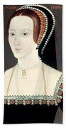 Anne Boleyn (1507-1536) Beach Sheet