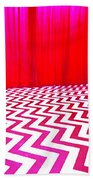Black Lodge Beach Towel