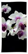 Dendrobium Orchid Beach Towel