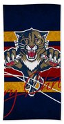 Florida Panthers Beach Towel