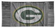 Green Bay Packers Beach Sheet