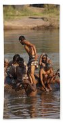 Hampi Ghats Beach Towel