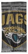 Jacksonville Jaguars Beach Towel by Joe Hamilton