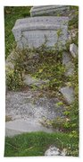 Key West Cemetery Beach Towel