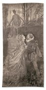 Mary Queen Of Scots (1542-1587) Beach Towel