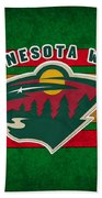 Minnesota Wild Beach Towel