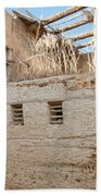 Mud Brick Village Beach Towel