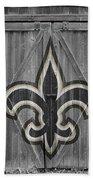 New Orleans Saints Beach Towel