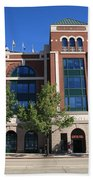 Texas Rangers Ballpark In Arlington Beach Towel