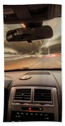 Traveling At Speed Of Light Beach Towel