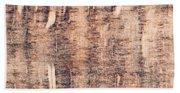 Wood Background Beach Sheet