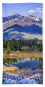 90524-23 In The Bull River Valley Beach Towel