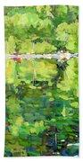 911-sherborne Lake Beach Towel