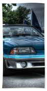 92 Mustang Gt Beach Towel