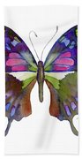 98 Graphium Weiskei Butterfly Beach Towel