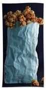 A Bag Of Popcorn Beach Towel