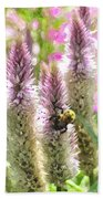 A Bee's Work Is Never Done Abwndwc Beach Towel