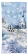 A Christmas To Remember Beach Towel