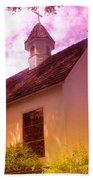 A Church In Prosser Wa Beach Sheet
