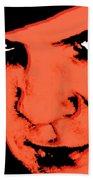A Clockwork Orange Malcolm Mcdowell Beach Towel