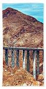 A Closer Look At Pat Tillman Bridge Beach Towel