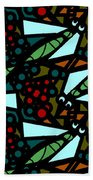 A Fly Of Sorts And Berries Beach Towel