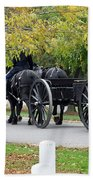 A Funeral In Arlington Beach Towel