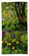A Garden Of Color Beach Towel