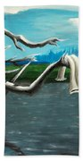 Aura On The Lake Beach Towel