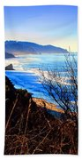 A Gorgeous Morning On The Pacific Beach Towel