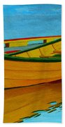 A Grand Banks Dory Beach Towel