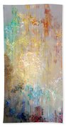 A Heart So Big - Abstract Art Beach Towel by Jaison Cianelli