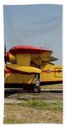 A Hellenic Air Force Canadair Cl-215 Beach Towel