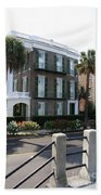 A Historic Home On The Battery - Charleston Beach Towel