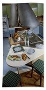 A Kitchen Designed By Ralph & Jane Bonnell Beach Towel