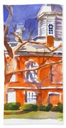 A Late Autumns Saturday Afternoon Beach Towel