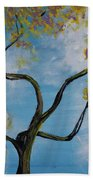 A Little All Over The Place Beach Towel