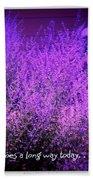 A Little Love Beach Towel by Bobbee Rickard