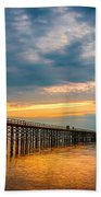 A Long Way Out Beach Towel