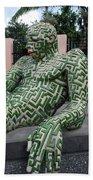 A Maze Ing Man 5 Beach Towel