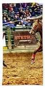 A Night At The Rodeo V10 Beach Towel