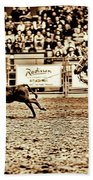 A Night At The Rodeo V11 Beach Towel