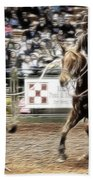A Night At The Rodeo V12 Beach Towel