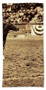 A Night At The Rodeo V22 Beach Towel