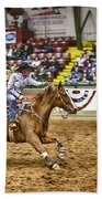 A Night At The Rodeo V27 Beach Towel