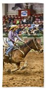 A Night At The Rodeo V31 Beach Towel
