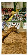 A Night At The Rodeo V35 Beach Towel